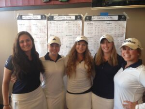 The Bellevue women's golf team won the Centralia Invitational.