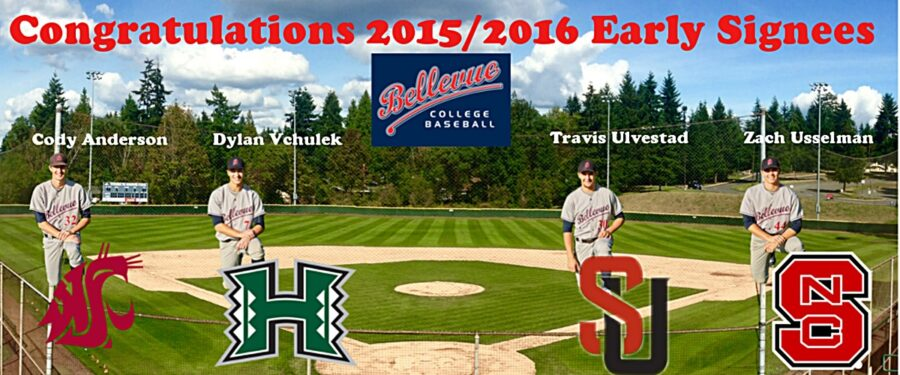 Early baseball signees for 2016