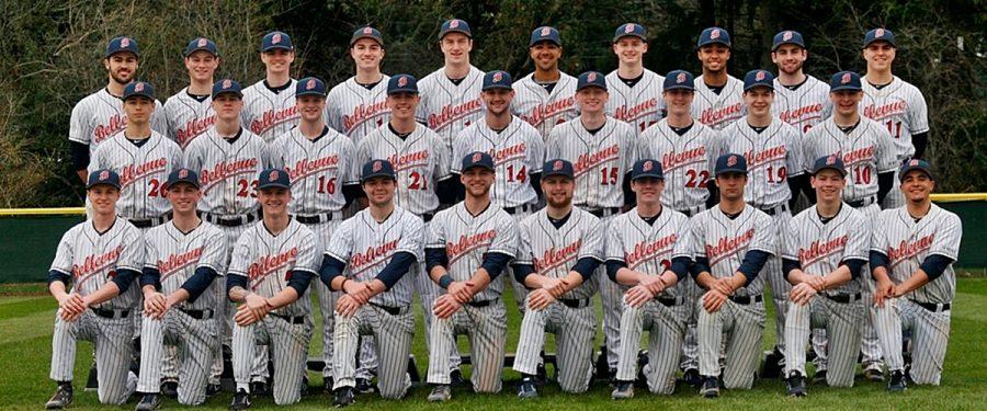 Team photo of 2018 BC baseball team