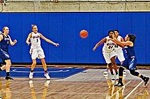 2016-17 BC women's basketball against Lane