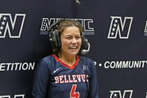A BC player does a post-game interview