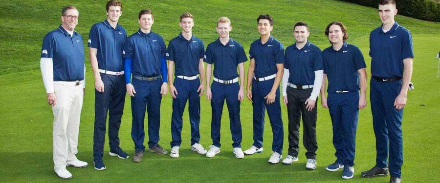 BC men's golf team