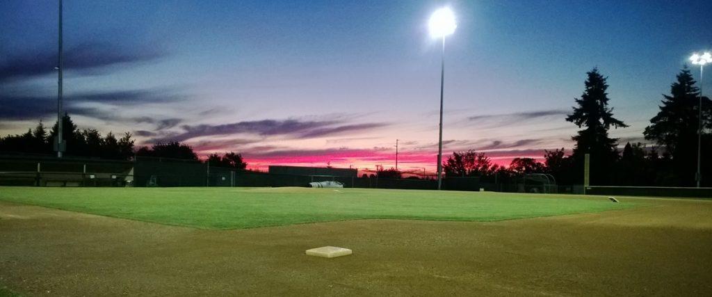 Courter Field at Bellevue College