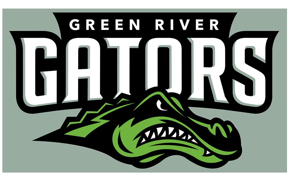 Green River community college Gator Logo