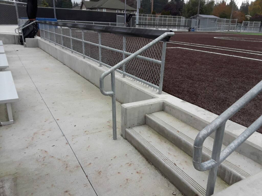 Access to field and field surface