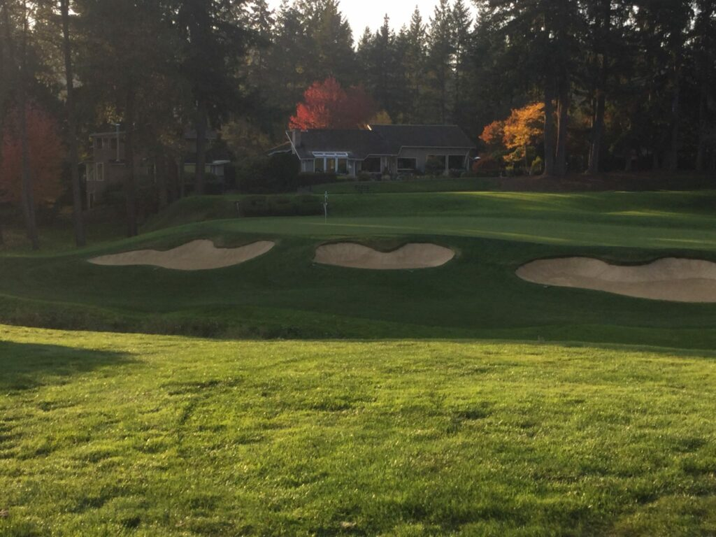 Glendale Country Club bunkers