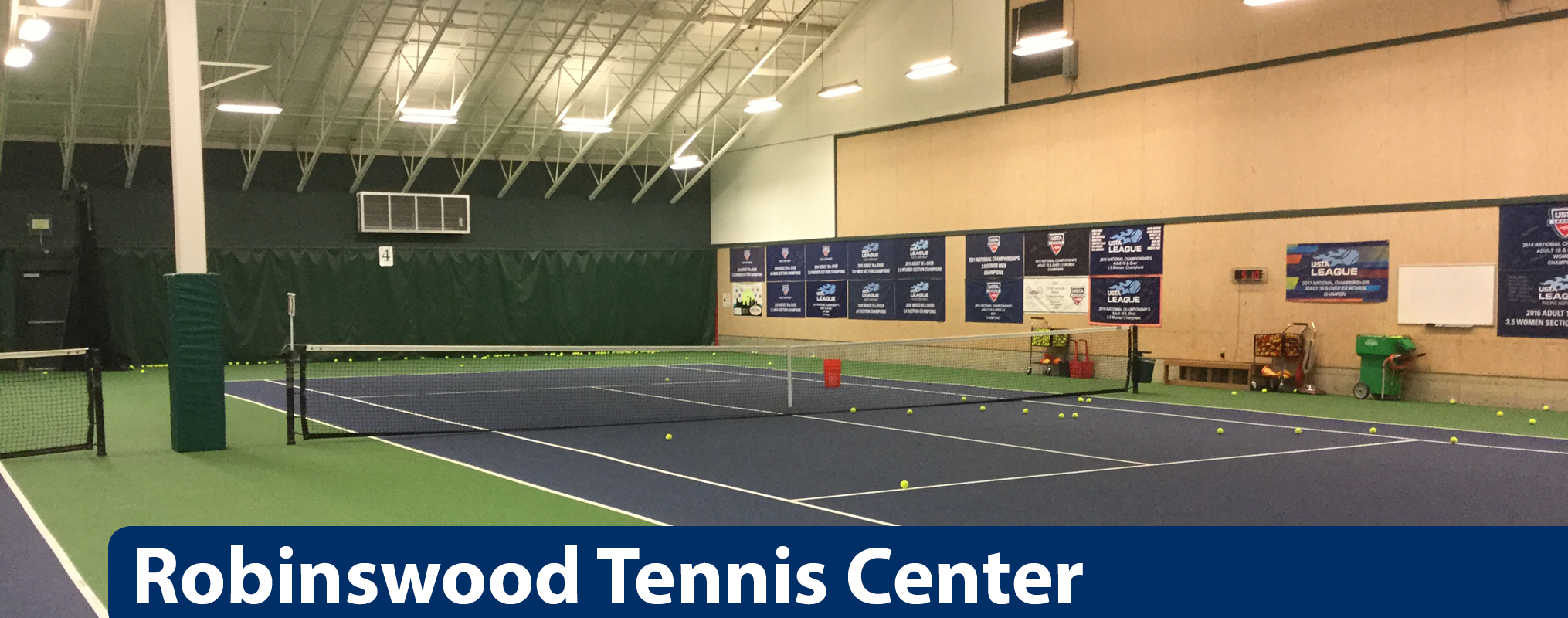 Robinswood Tennis center banner image