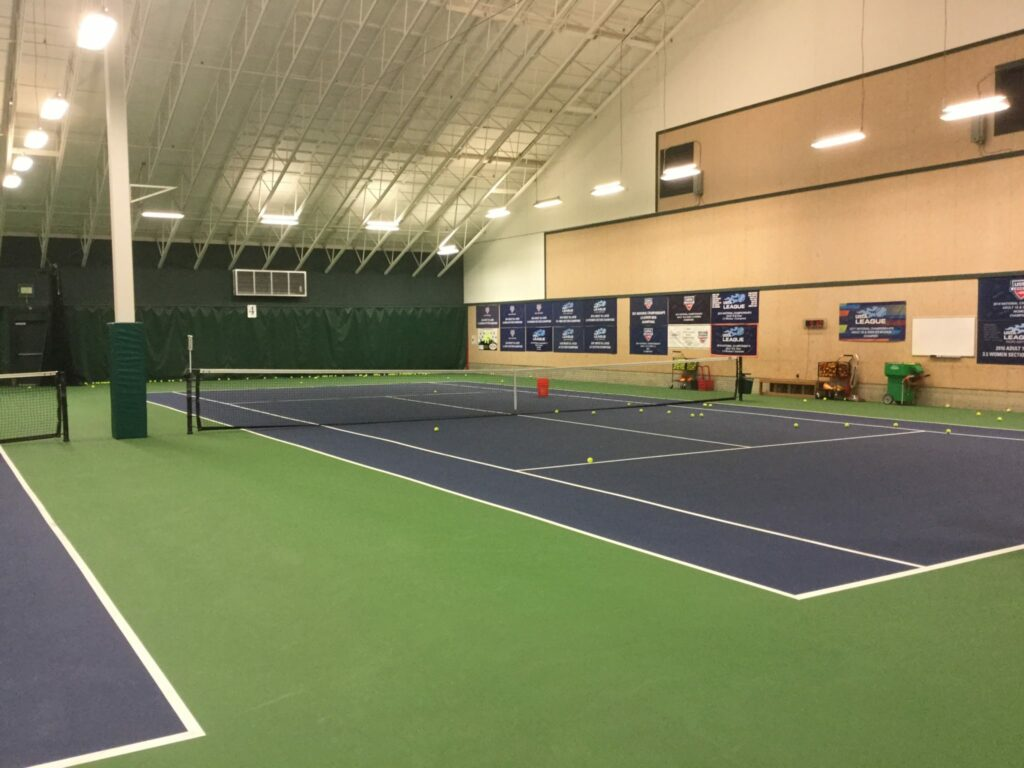 Robinswood Tennis Center indoor view