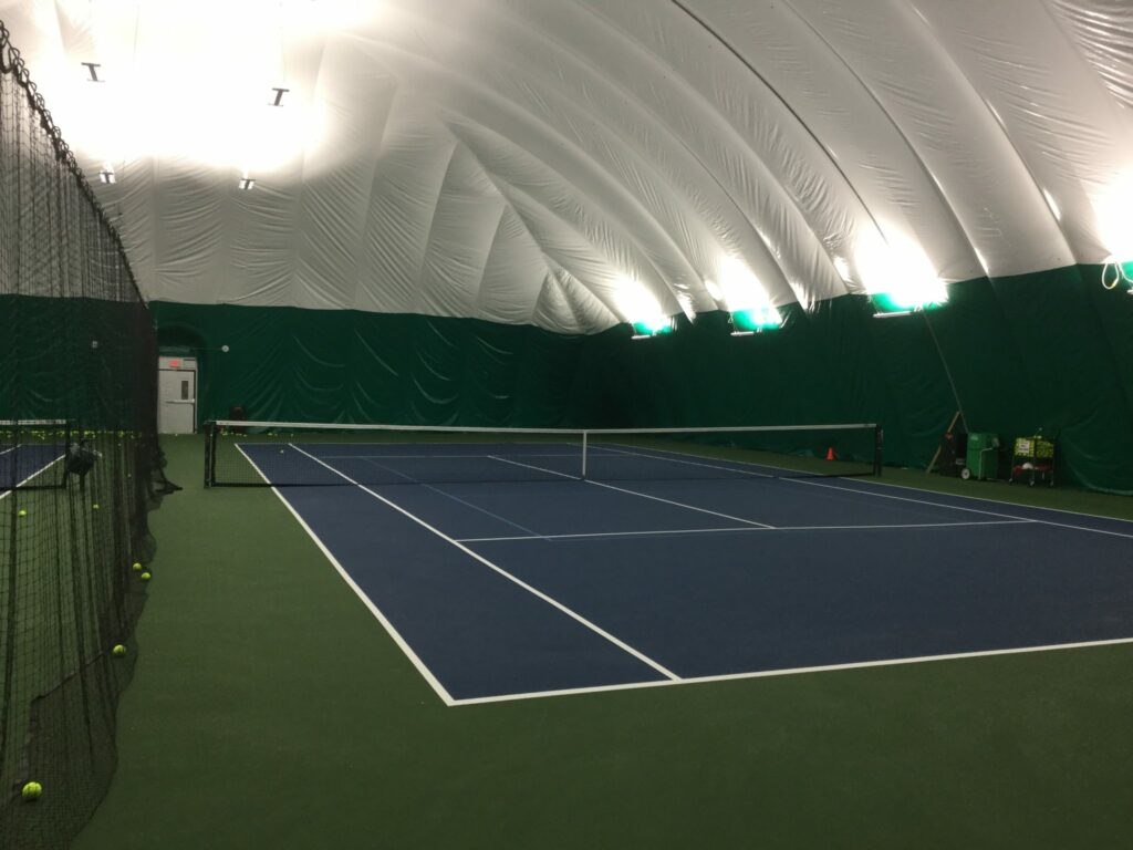 Robinswood Tennis Center court view