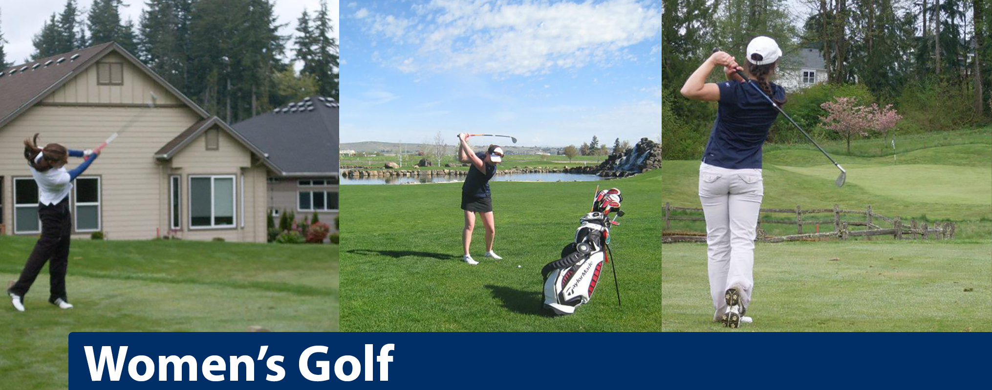 Women's Golf banner image