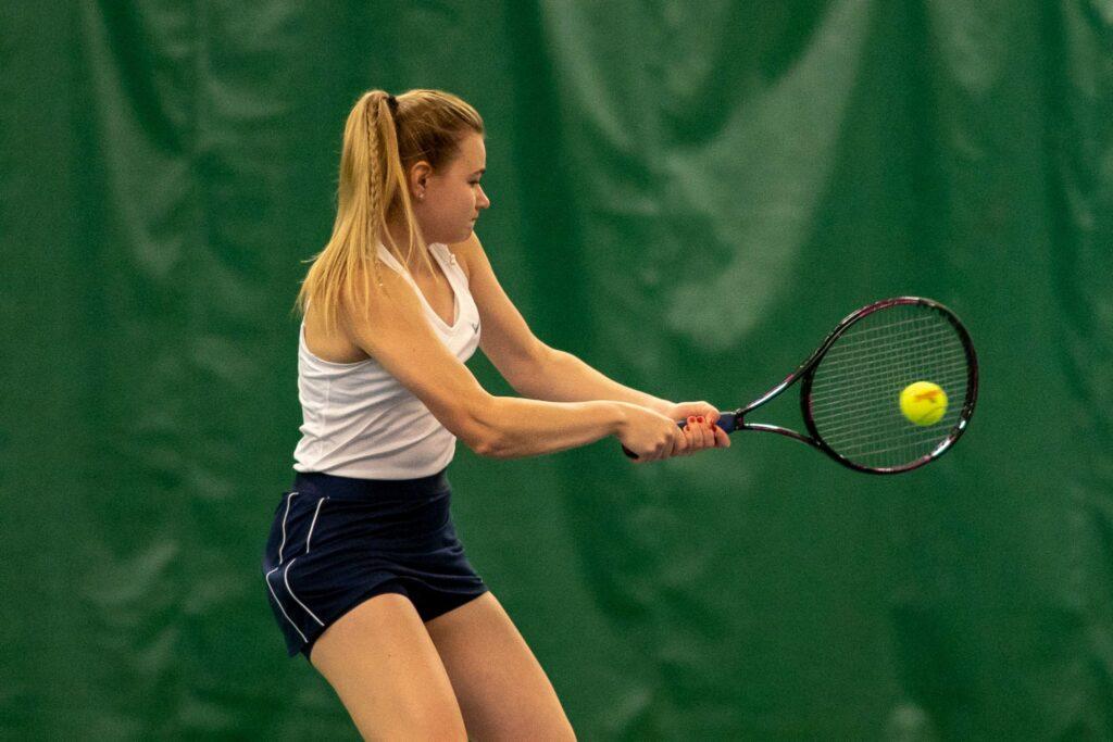 Sofia Panchuk 2019 w tennis action