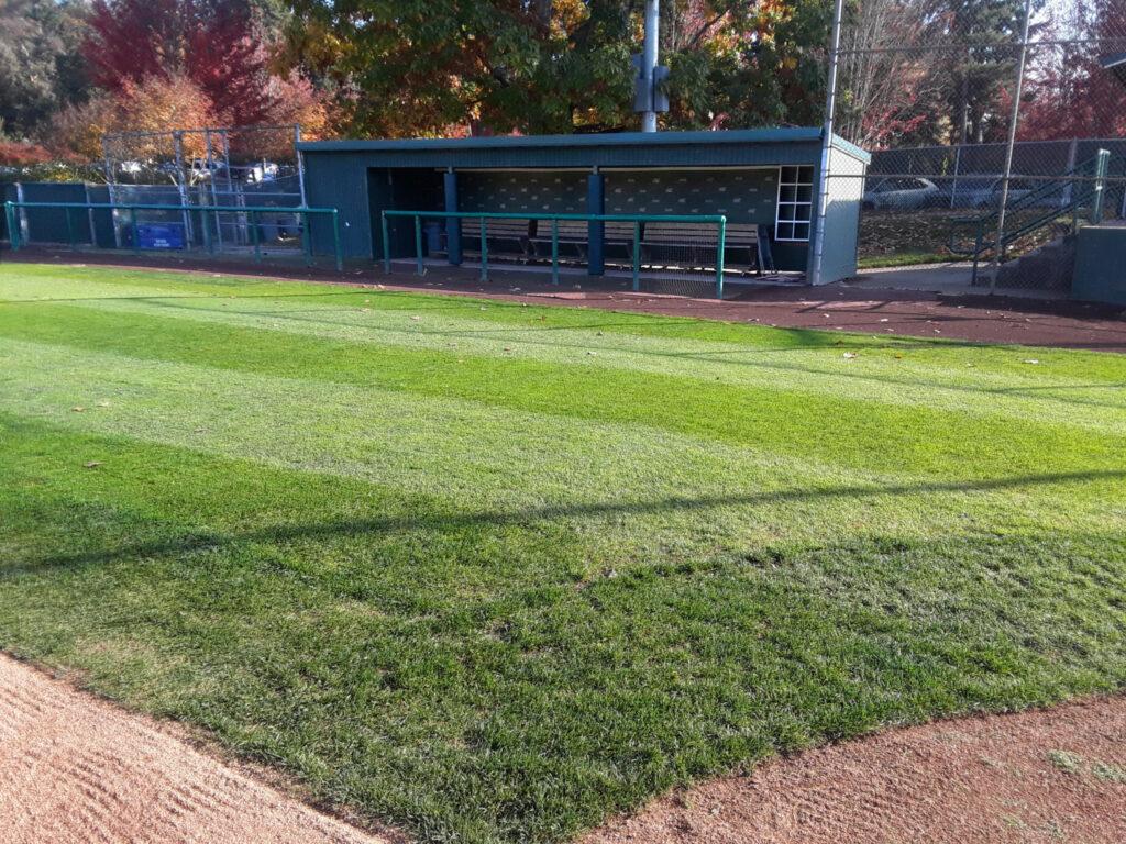 Courter Field dugout