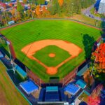 Courter Field overhead view