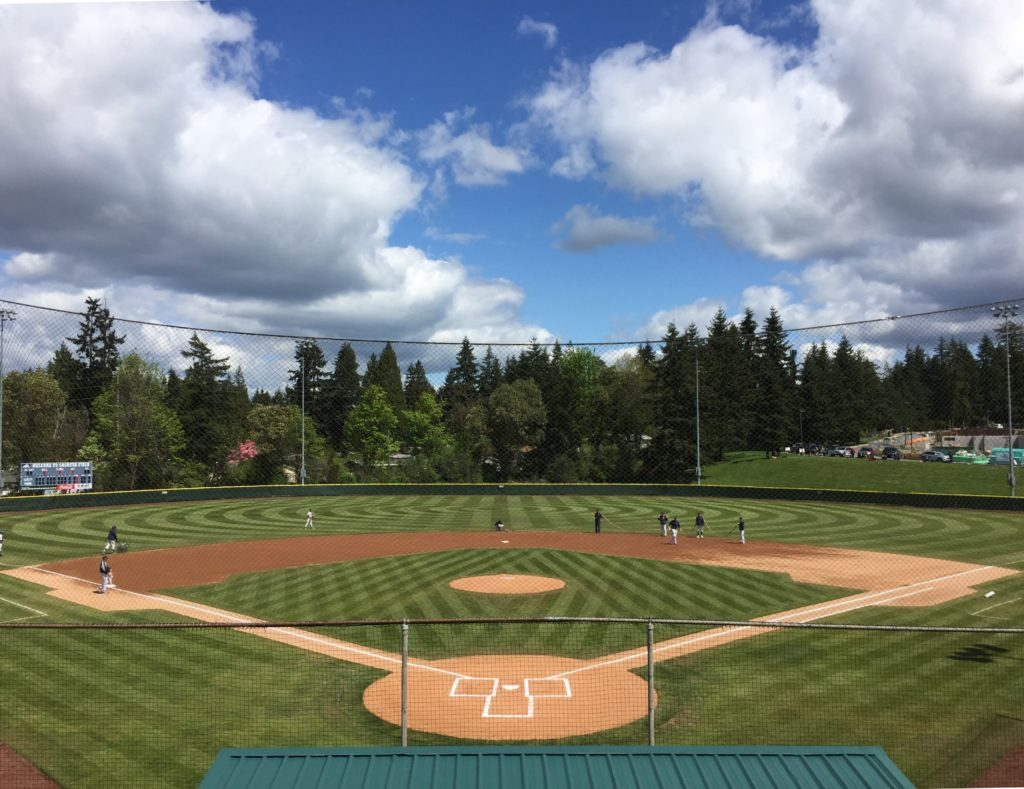 Courter Field from home plate