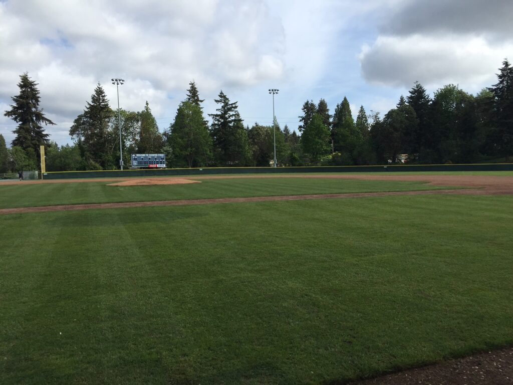 Courter Field outfield