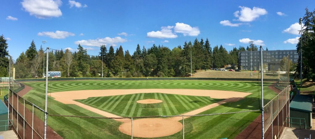 Courter Field home plate