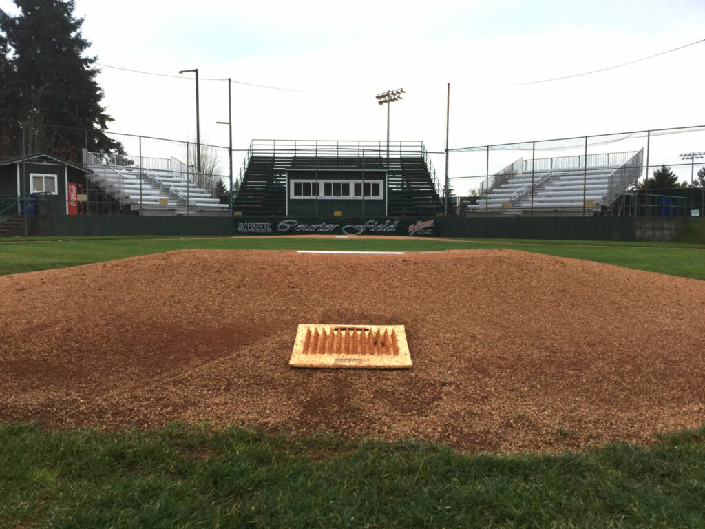 Courter Field towards home plate