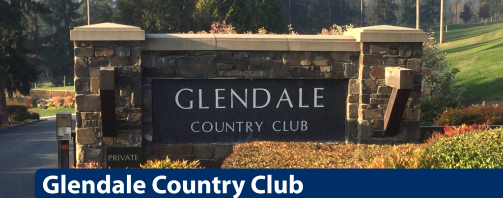 Glendale Country Club main gate