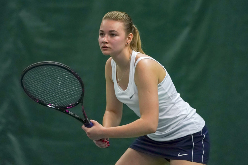 Sofia Panchuk Bellevue College women's tennis
