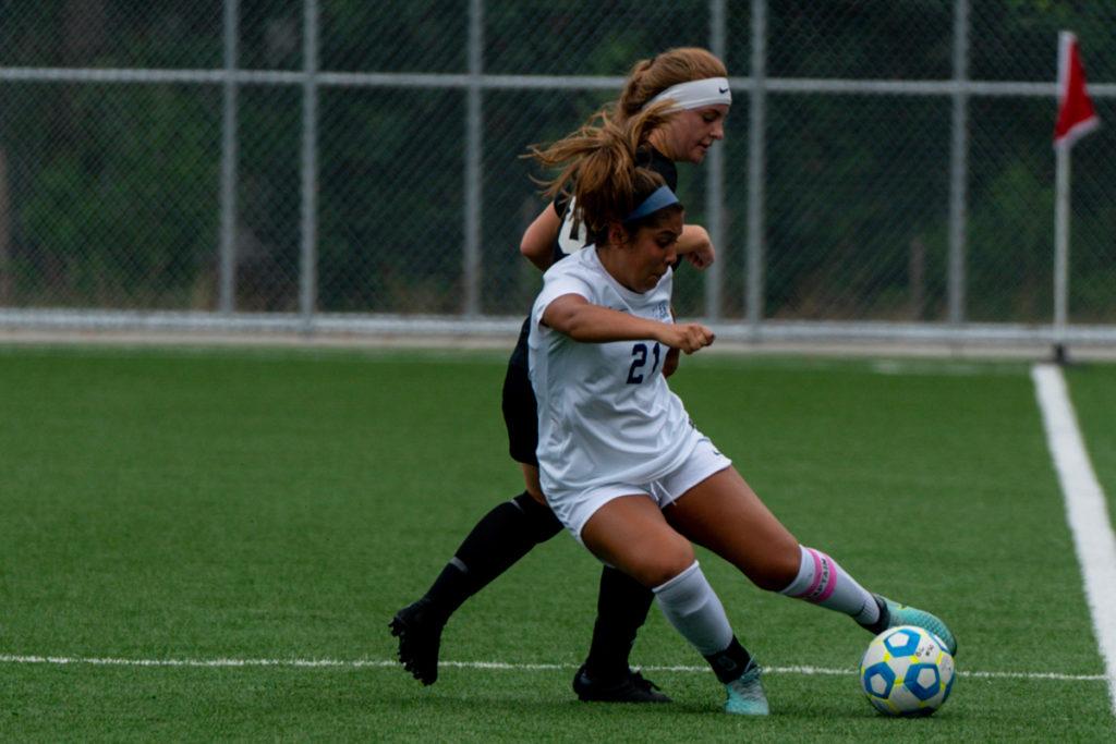 K Jaramillo BC women's soccer 2-19