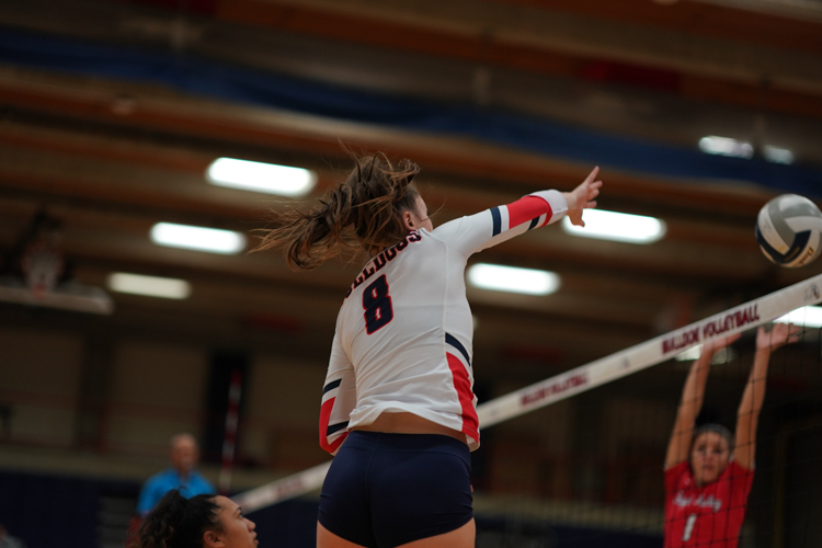 Volleyball Falls to Whatcom