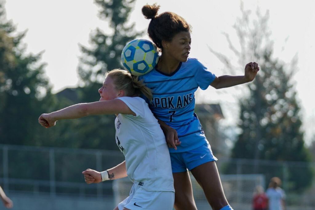 BC women's soccer 2019 playoff vs Spokane