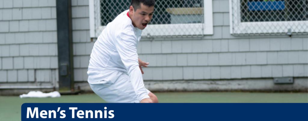 Men's Tennis Program landing page featured image