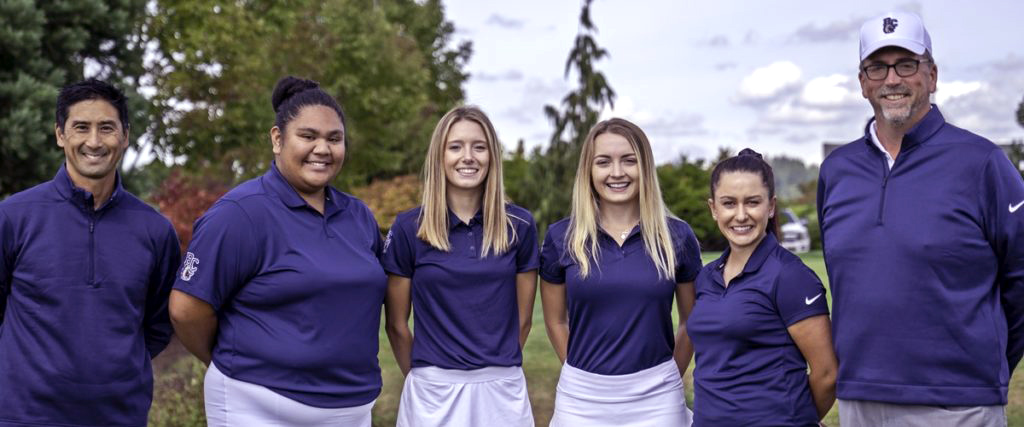 Team photo 2019 BC women's golf team