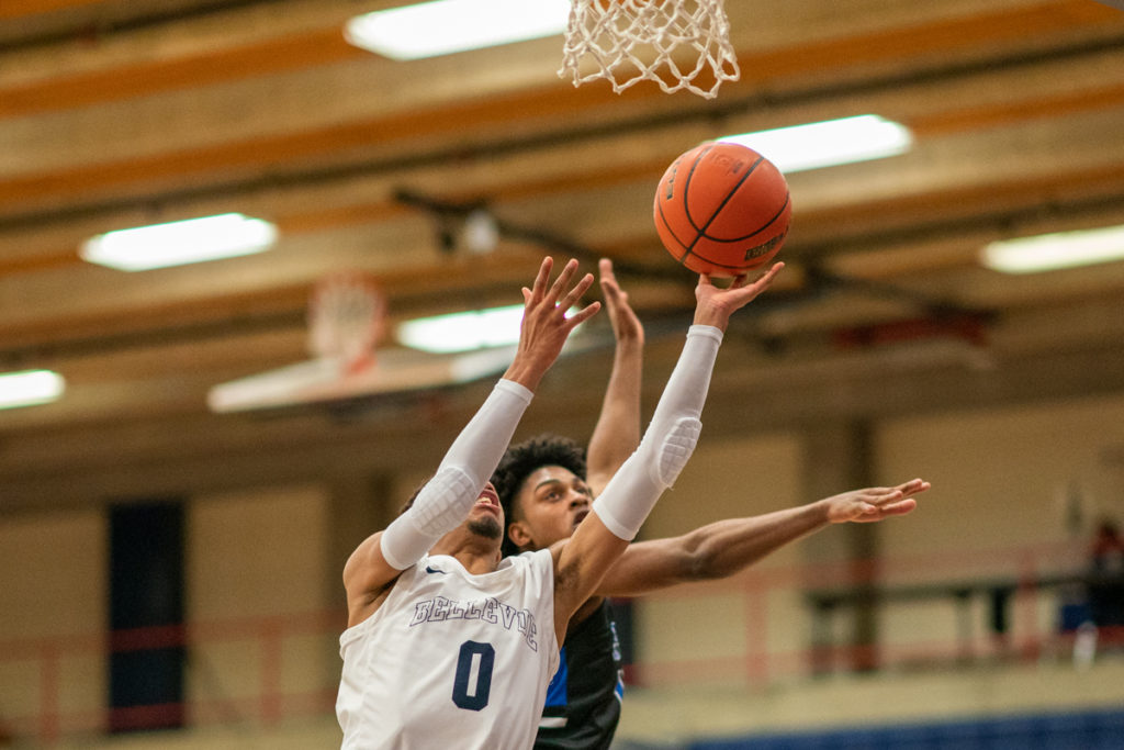 Trevon Richmond of Bellevue College men's basketball