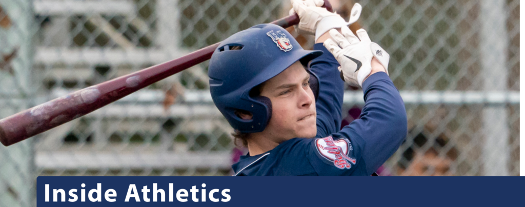 Inside Athletics with Baseball batter as feature