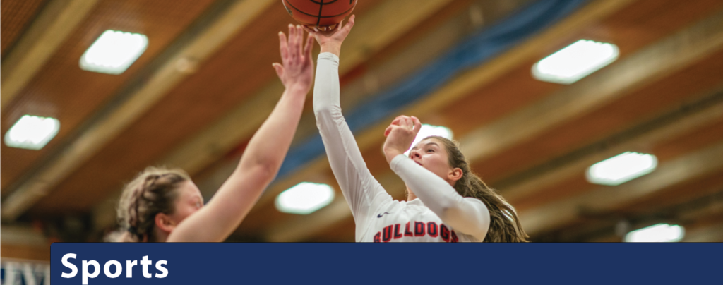 Sports banner image featuring Women's Basketball