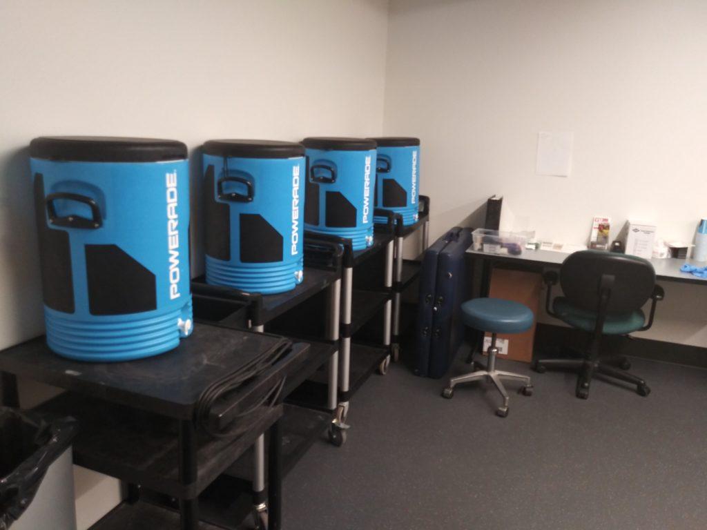 Training Room Hydration Station