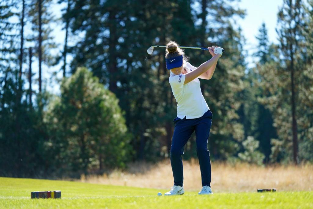 Tori Berger BC golf