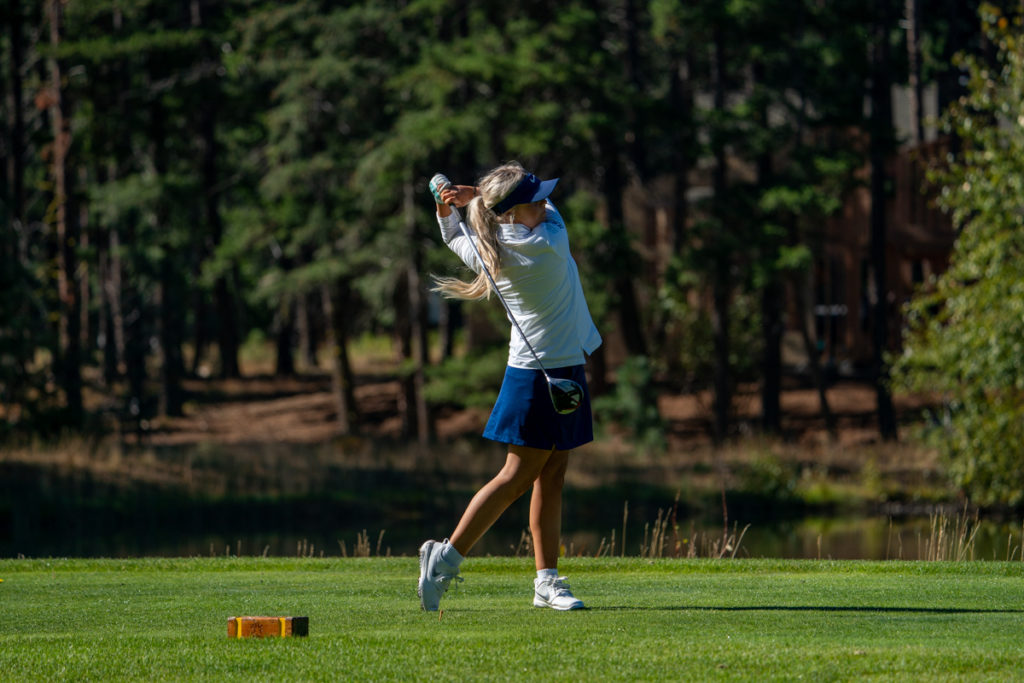 Ashley Clark BC Women's Golf