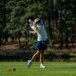 Clark Fires 79 Leading BC Women's Golf