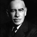 A photo of John M. Keynes