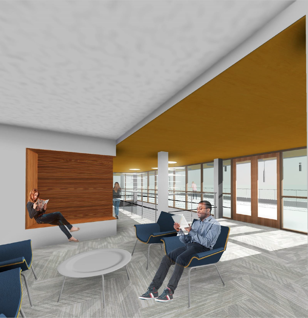 Architectural Renderings Student Housing