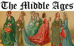people wearing clothing from the middle ages
