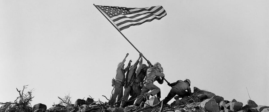picture of iwo jima memorial