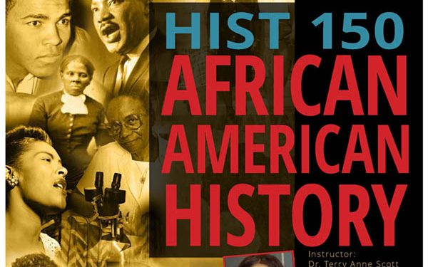 poster for History 150 class offered in Spring