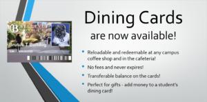 Dining Card Ad