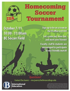 Homecoming Soccer Tournament - information contained in page text