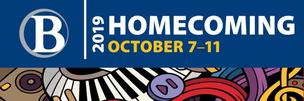 2019 Homecoming October 7-11