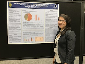 Angelina student's Poster at WPA 2018