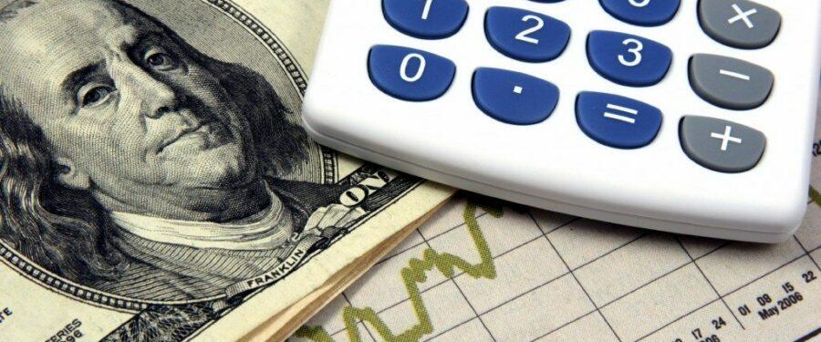 Calculator money chart image