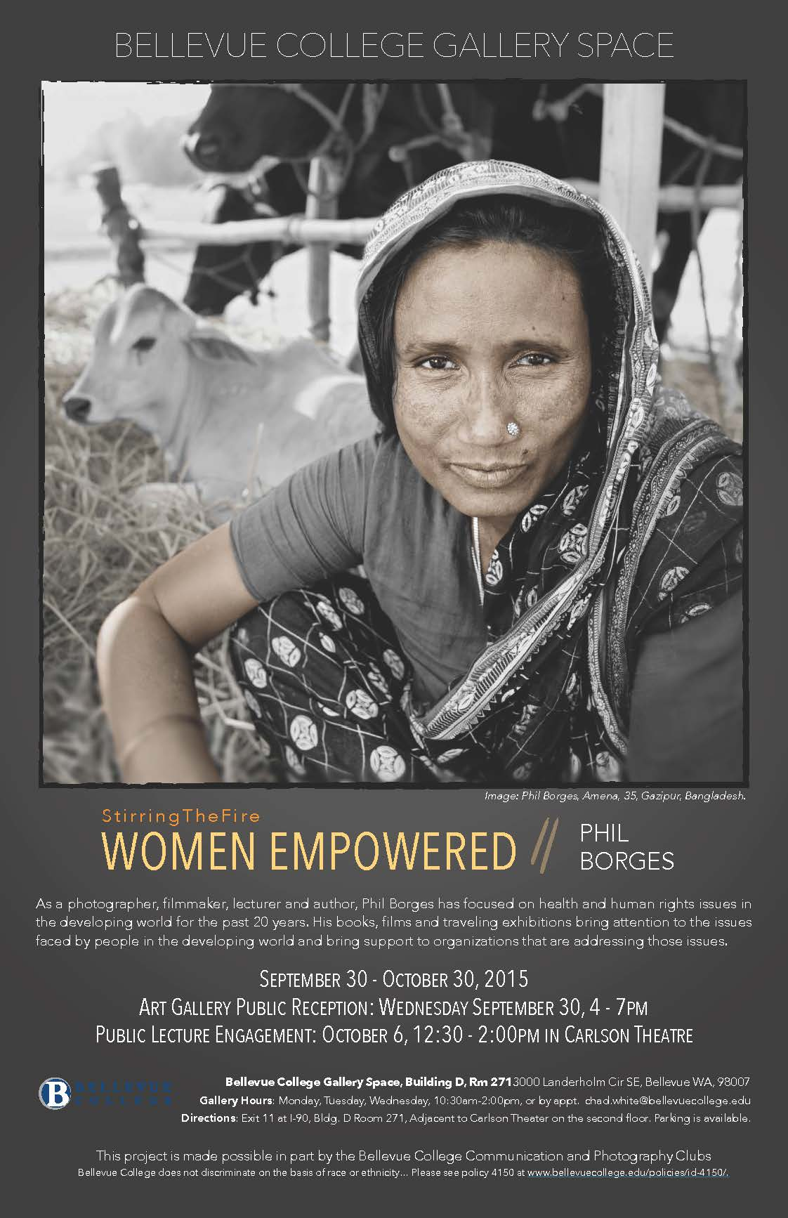 Phil Borgers – Women Empowered :: Events Calendar