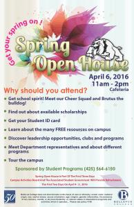 Spring Open House