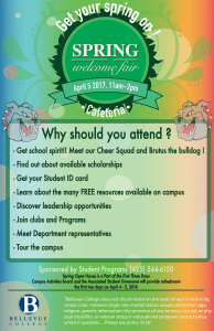 Welcome Fair poster