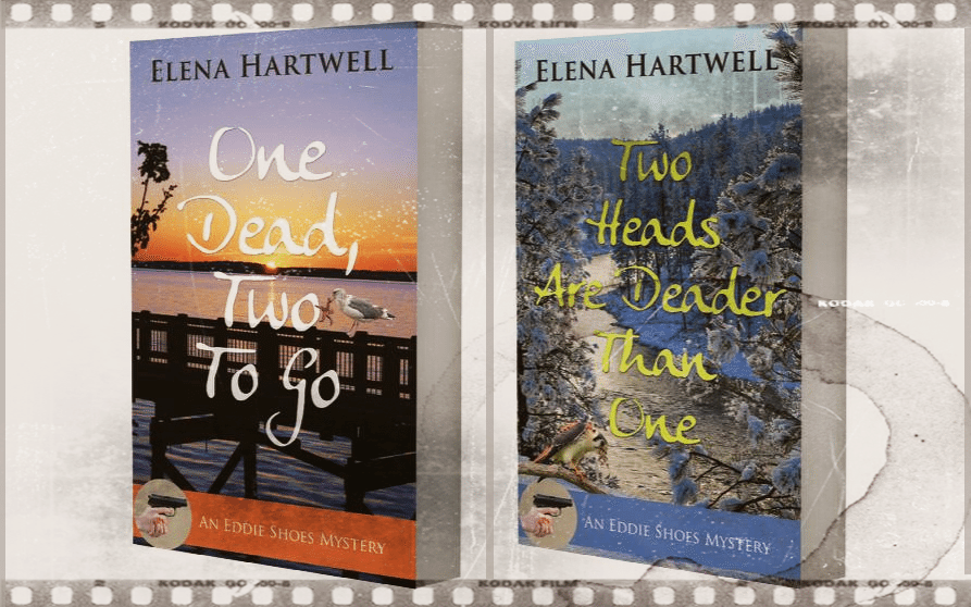 Book covers for One Dead, Two To Go and Two Heasds Are Deader Than One