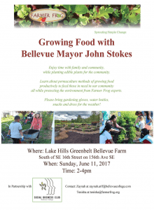 Growing Food with Mayor Stokes